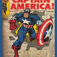 Captain America #109 Marvel Comics Poster 24x36