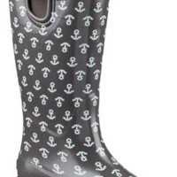Sperry Top-Sider Pelican III Rain Boot GraphiteAnchor, Size 11M  Women's Shoes