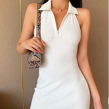 New hot selling all-match slim sexy strapless dress