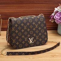LV Louis Vuitton Hot Selling Fashion Ladies One Shoulder Messenger Bag Chain Bag Messenger Bag
