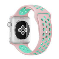 5pcs Silicone strap For Apple Watch Band 42mm Sport Band For Apple Watch Strap For Nike SM/ML size Series 1/2