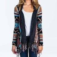 Billabong Women's Dream Chaser Sweater Off Black Multi