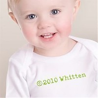 Copyright Personalized Onesuit or Tee