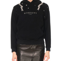 Givenchy Gemini-Print Long-Sleeve Cotton Hooded Sweatshirt and Matching Items & Matching Items | Neiman Marcus