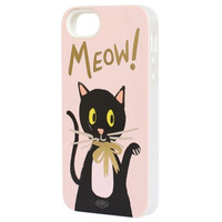 Meow iphone 5 + 5s case - Inlay
