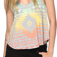 Starling Ombre Tribal Tank Top