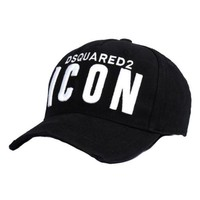 ONETOW Dsquared2 Boys Black 'Icon' Cap