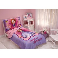 Disney Sofia the First 4-pc. Toddler Bedding Set by Crown Crafts