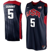 Nike Kevin Durant USA Basketball 2012 Replica Jersey - Navy Blue