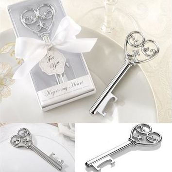 Key Design Cute Bottle Opener Corkscrew Kitchen Party Wedding Shower Favor Nice [7983379975]
