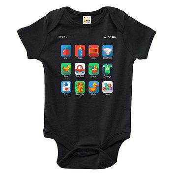 Baby Bodysuit - Phone Home Screen Icons