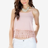 Crush Hard Crochet Cami