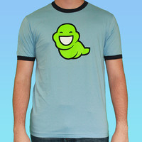 John's Green Slime Ghost - Blue Ringer