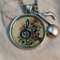 Music Notes Pendant 3