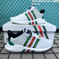 KUYOU A087 Adidas EQT Support Future Boost x Gucci Sports Shoes White