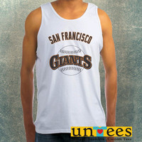 San Francisco Giant Clothing Tank Top For Mens