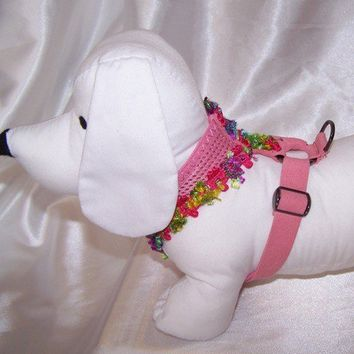 Pink Harness for Dogs