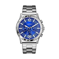 Caravelle New York by Bulova Watch - Men's Stainless Steel Chronograph (Grey)