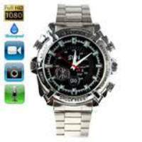 16GB High-definition infrared Waterproof Watch Camera