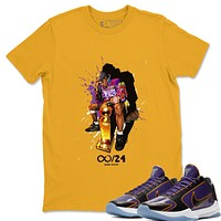 Black Mamba T-Shirt - Nike Kobe 5 Protro 5X Champ Lakers