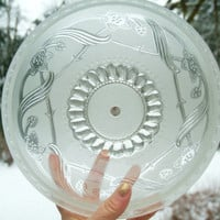 Glass Lamp Shade, Frosted Glass, Ceiling Fixture,