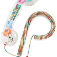 Call to Charm Cell Phone Handset in Retro