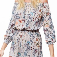 Free People Pretty & Free Off the Shoulder Romper | Nordstrom