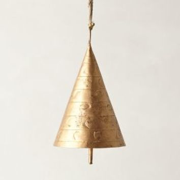 Siphon Chime by Anthropologie in Brass Size: One Size House & Home