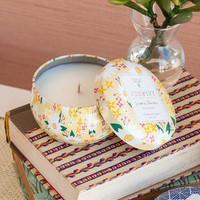 JUN & IVY GARDENIA BLOSSOMS TIN CANDLE BY FRANCESCAS®