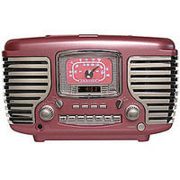 Crosley CR612-PNK Pink CD/ Radio Alarm Clock  | Overstock.com