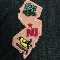 New Jersey State Patch (1) - jersey strong shore violet goldfinch trenton