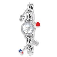 Ladies MLB San Diego Padres Charm Watch