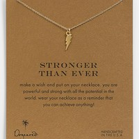 Dogeared 'Reminder - Stronger Than Ever' Boxed Pendant Necklace
