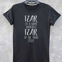 Harry Potter Shirt Hermione Quotes Typography Tshirt Vintage Style