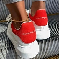 Alexander McQueen Men's and women's white shoes