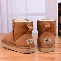Tagre™ UGG Women Fashion Leather Snow Boots Shoes