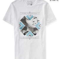 Aeropostale  Free State Los Angeles Glance Graphic T