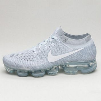 mieniwe Nike Air Max VaporMax Flyknit Men Women Running Shoes Lack blue G-FEU-SY
