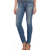 Big Star Alex Skinny Jeans - Crescent Medium Blue