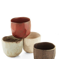 ModCloth Rustic Bolder and Boulder Glass Set