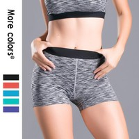 Fitness Clothing Women Patchwork Sports Gym Workout Waistband Skinny Yoga Short Sports Wear legging yoga Gym Mujer Running Sport