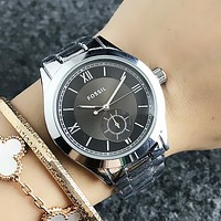 FOSSIL Fashion New  Men Women Casual Business Sport Movement Lovers Watch