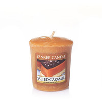 Salted Caramel : Sampler Votive Candles : Yankee Candle