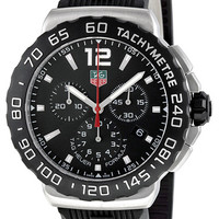Tag Heuer F1 chrono Mens Chronograph Quartz Watch CAU1110.FT6024