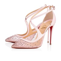 Twistissima Strass 100 Version Vintage Rose Strass - Women Shoes - Christian Louboutin