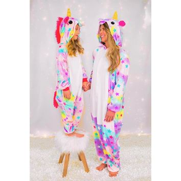 Mommy & Me Shooting For The Stars Unicorn Onesuits -RESTOCKED!
