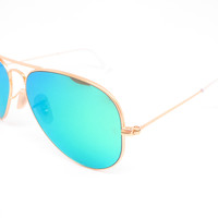 Ray-Ban RB 3025 Aviator 112/19 Matte Gold Sunglasses