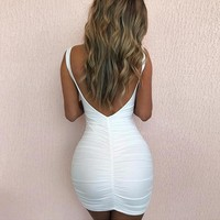 Skylar backless dress