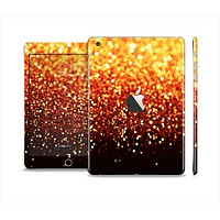 The Faded Gold Glimmer Full Body Skin Set for the Apple iPad Mini 2