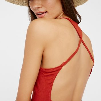 Free People So Many Ways Harness Crop Top